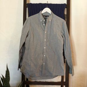 Michael Koes Gray Button Down Shirt